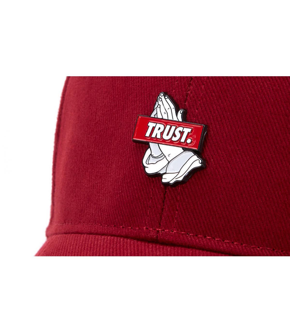 Détails Trust Curved maroon - image 3