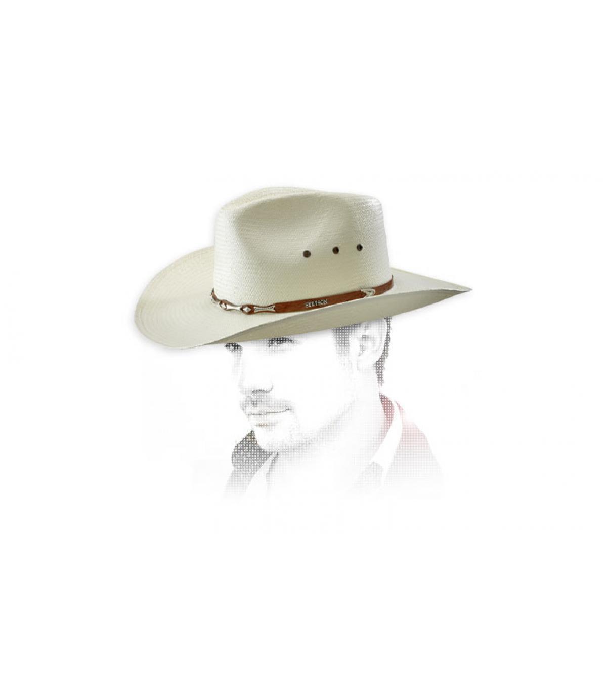 chapeau ete cowboy horizon par stetson. Black Bedroom Furniture Sets. Home Design Ideas