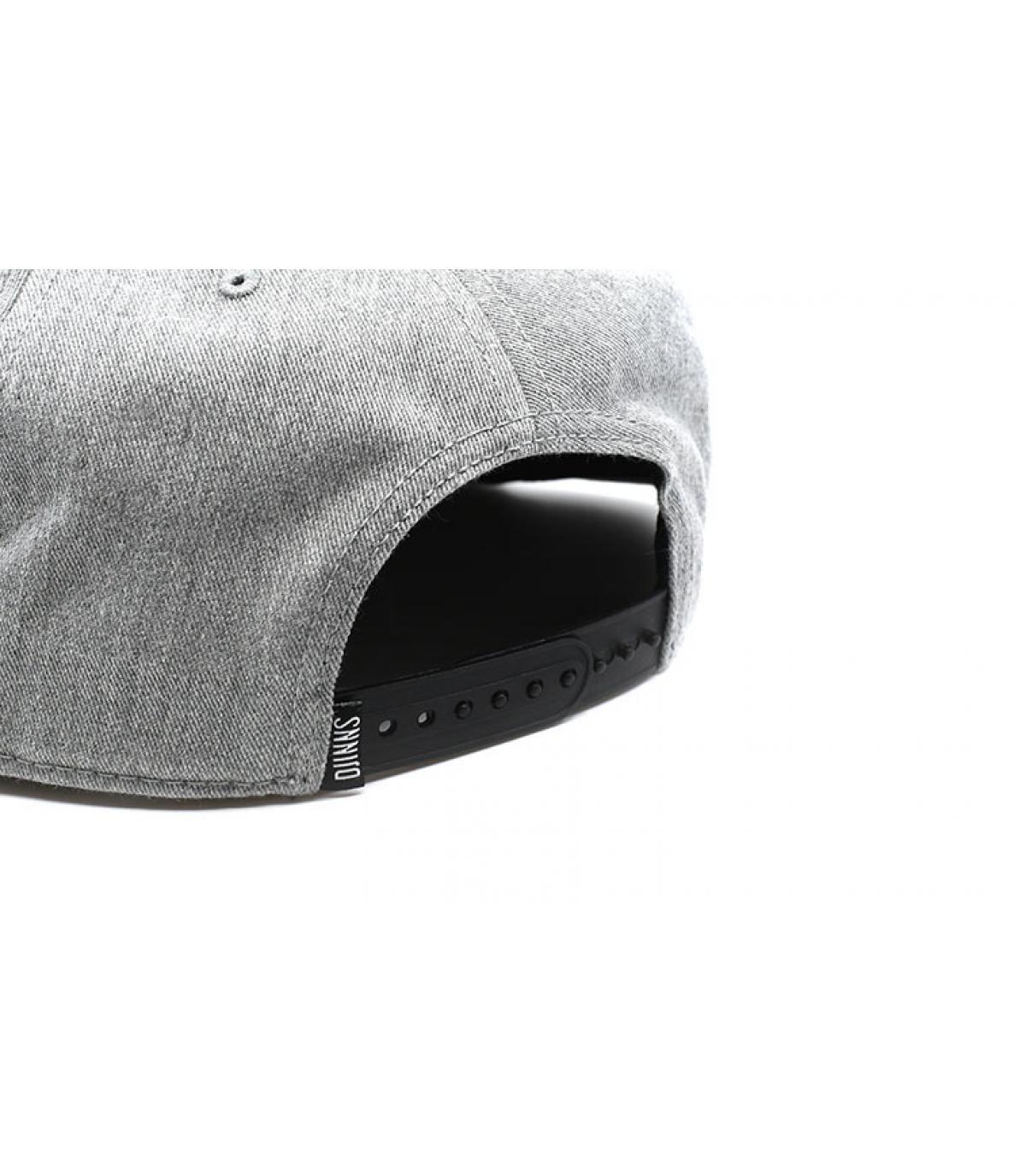 Détails Snapback Cigar grey - image 5
