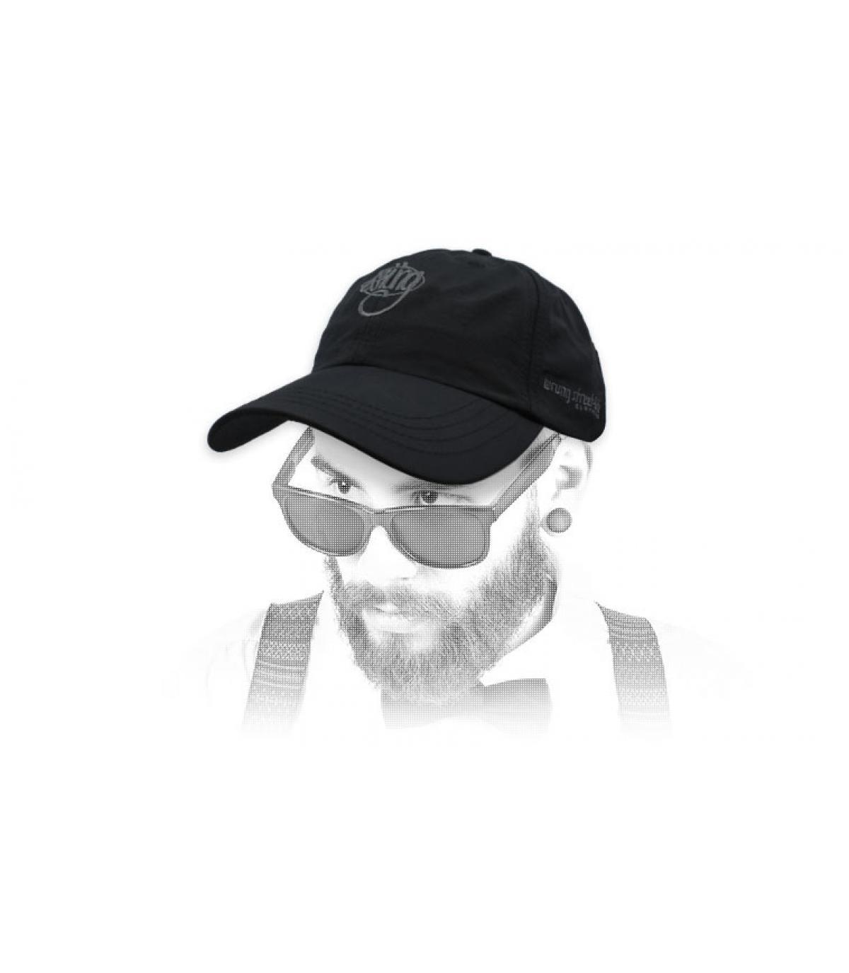 casquette Wrung noir logo90