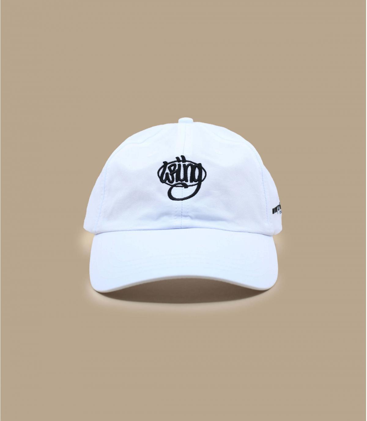 casquette Wrung blanc logo90