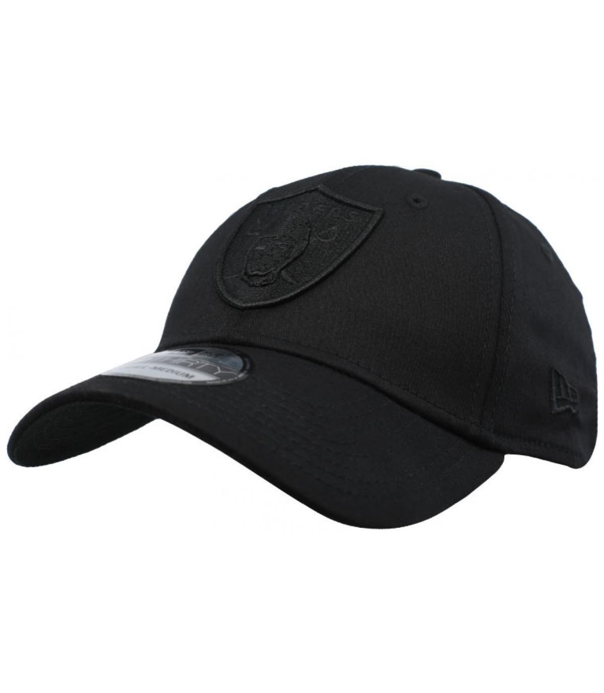Détails Casquette Raiders Black On Black 39Thirty - image 2