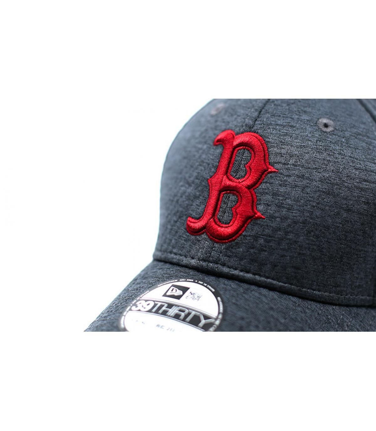 Détails Casquette Boston Dryswitch Jersey 39Thirty black cardinal - image 3