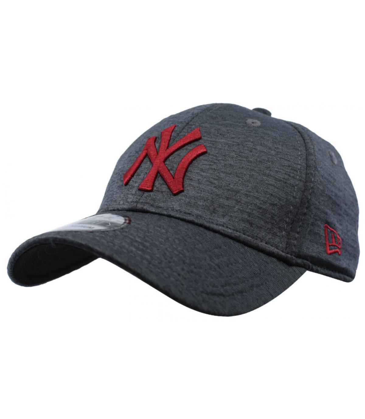 Détails Casquette NY Dryswitch Jersey 39Thirty black cardinal - image 2