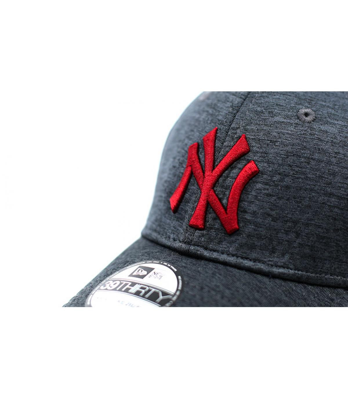 Détails Casquette NY Dryswitch Jersey 39Thirty black cardinal - image 3