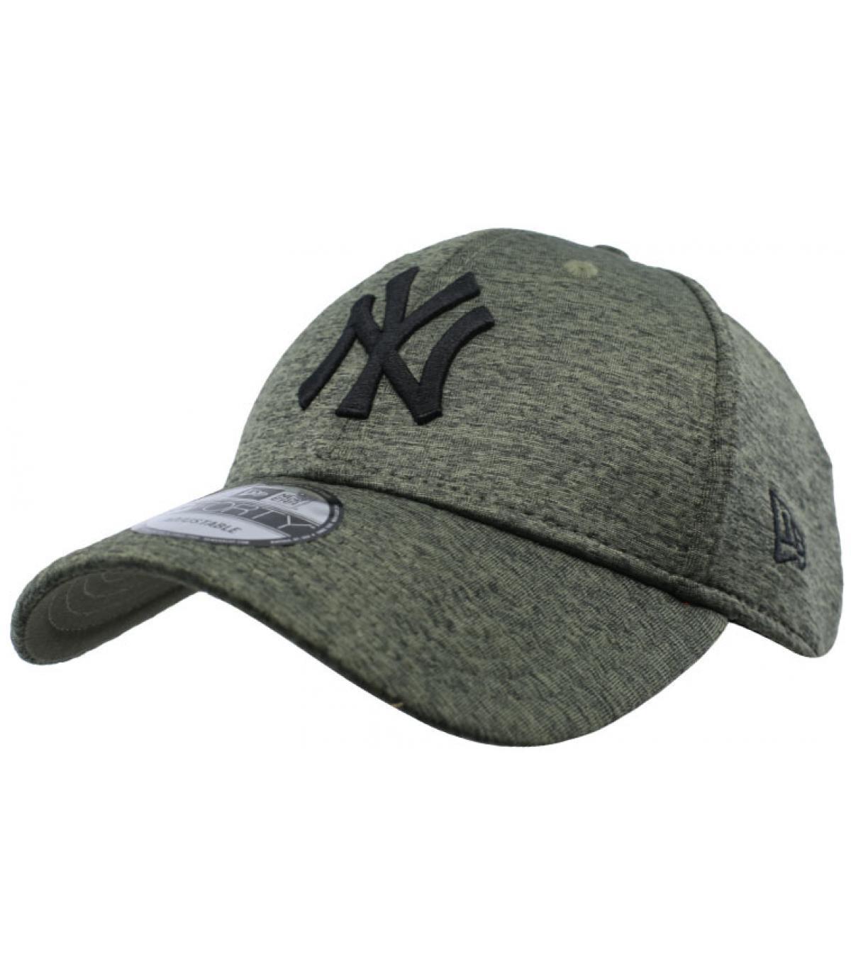 casquette NY vert déperlant