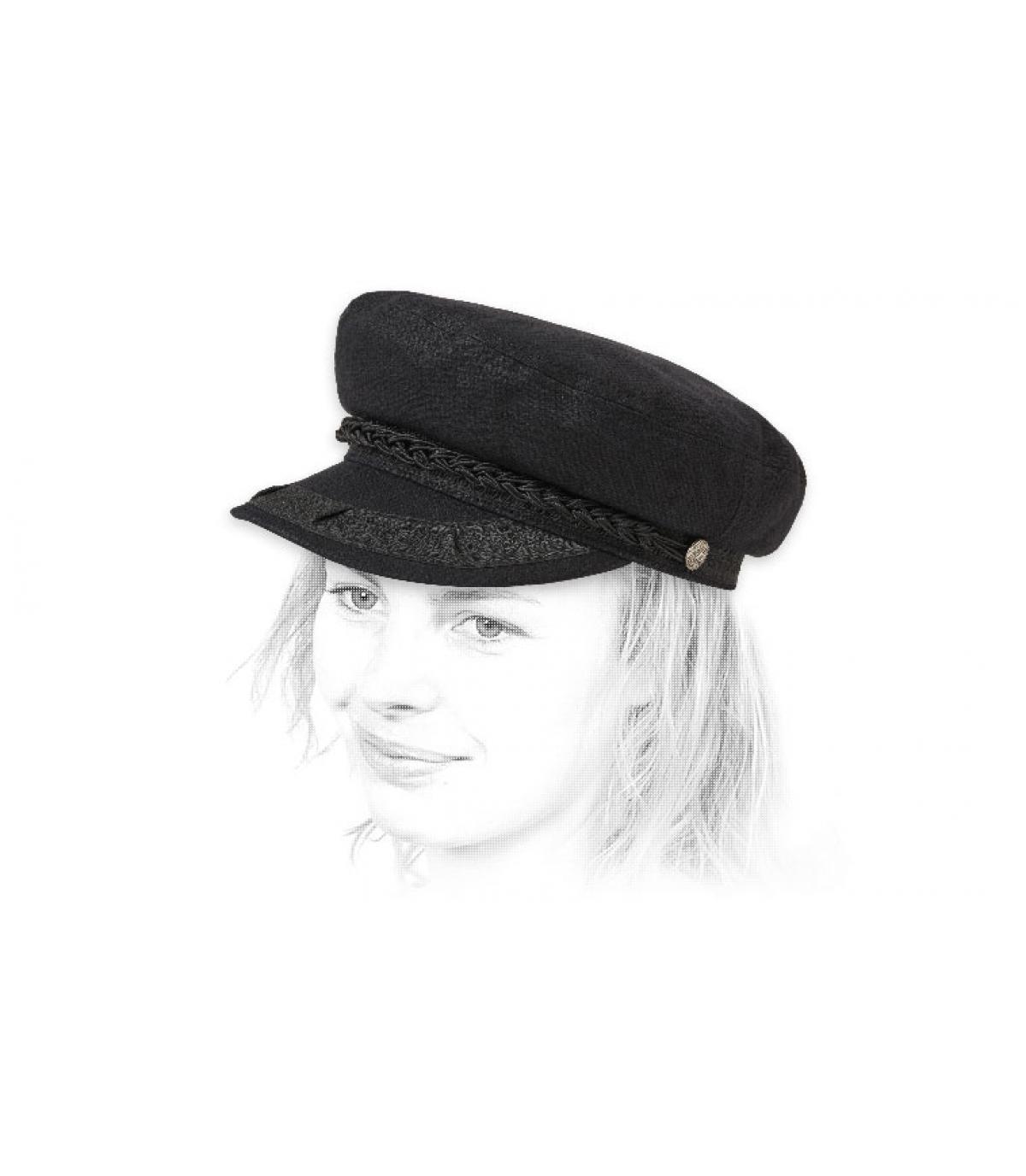 casquette marin noir Brixton