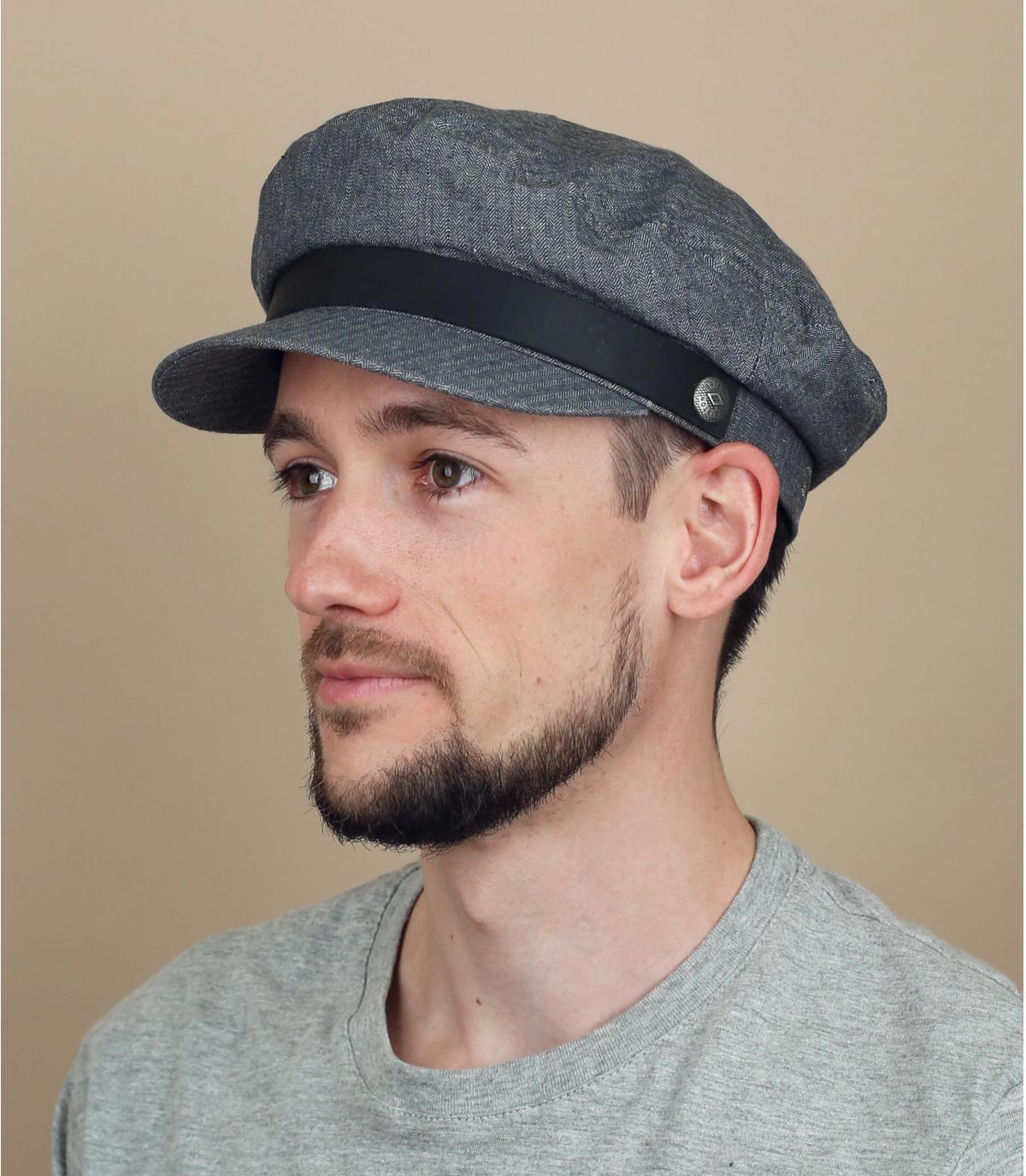casquette marin gris Brixton