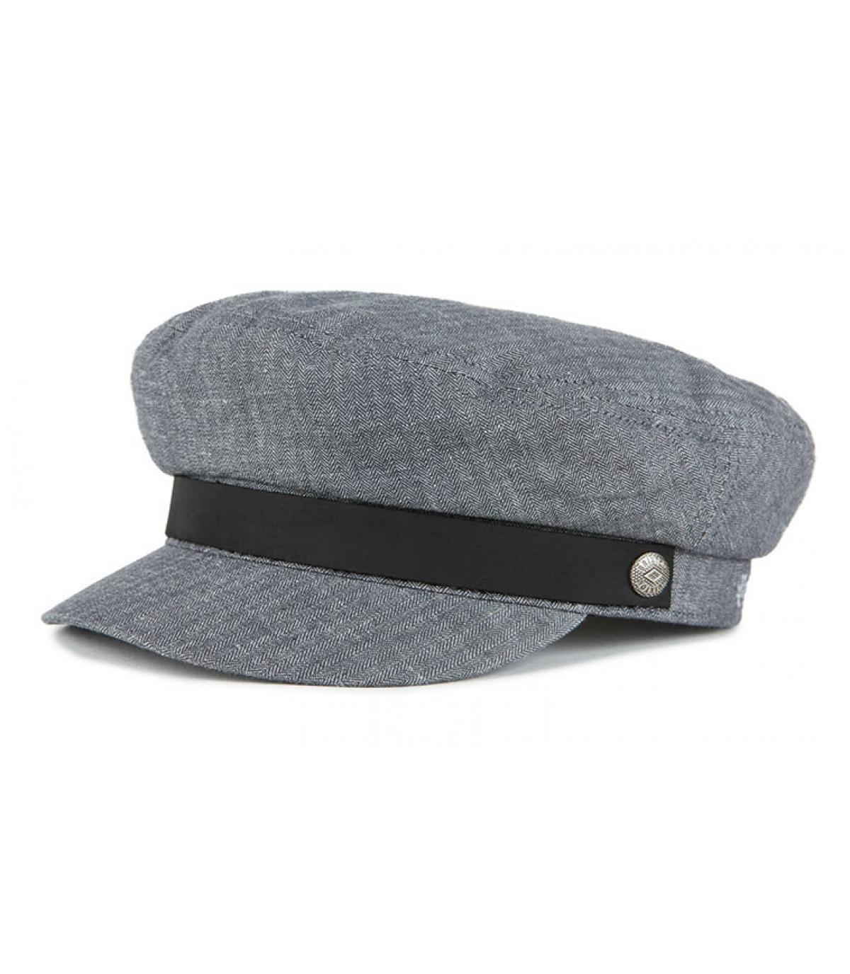 casquette marin femme gris