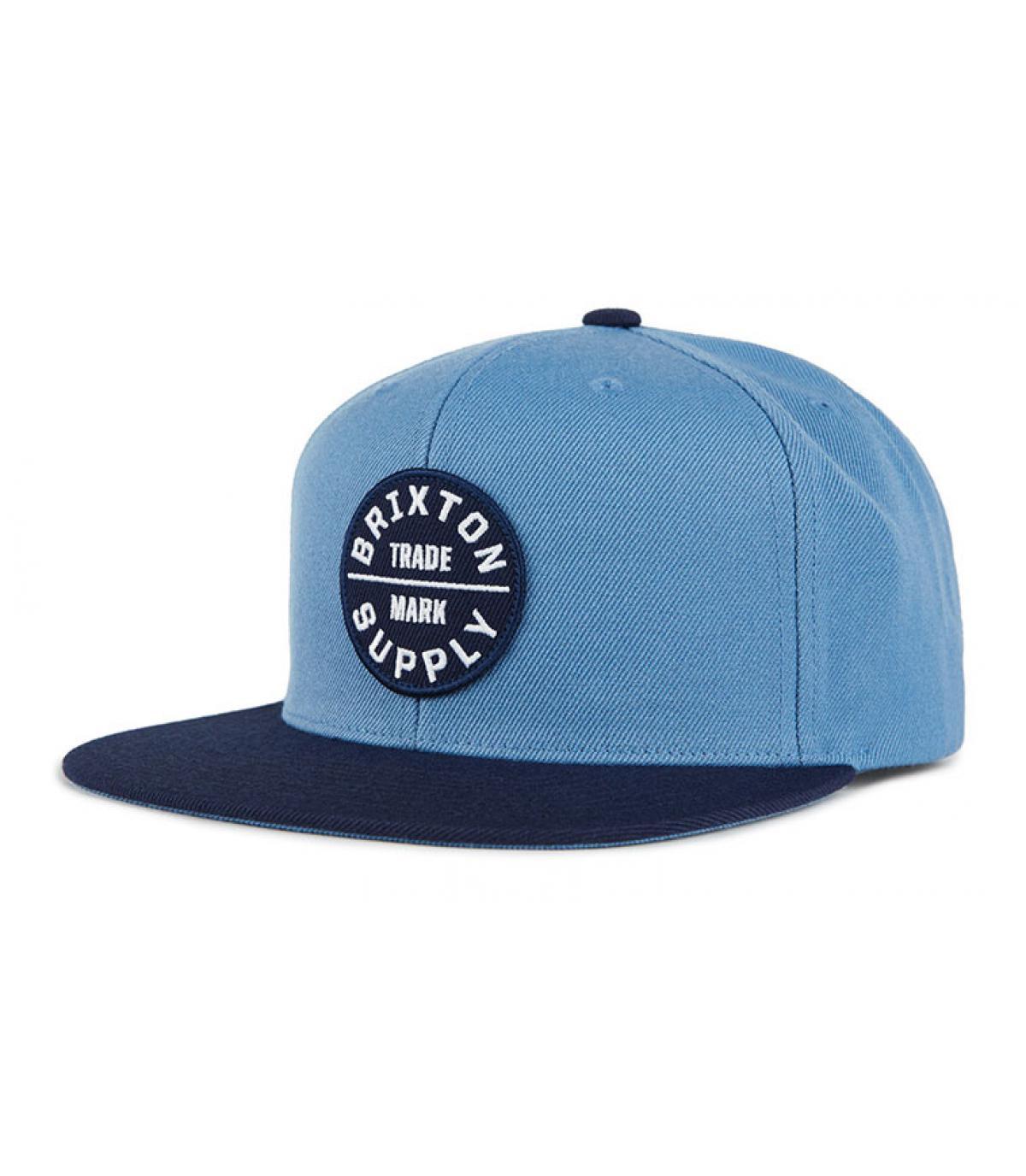 snapback bleu Brixton