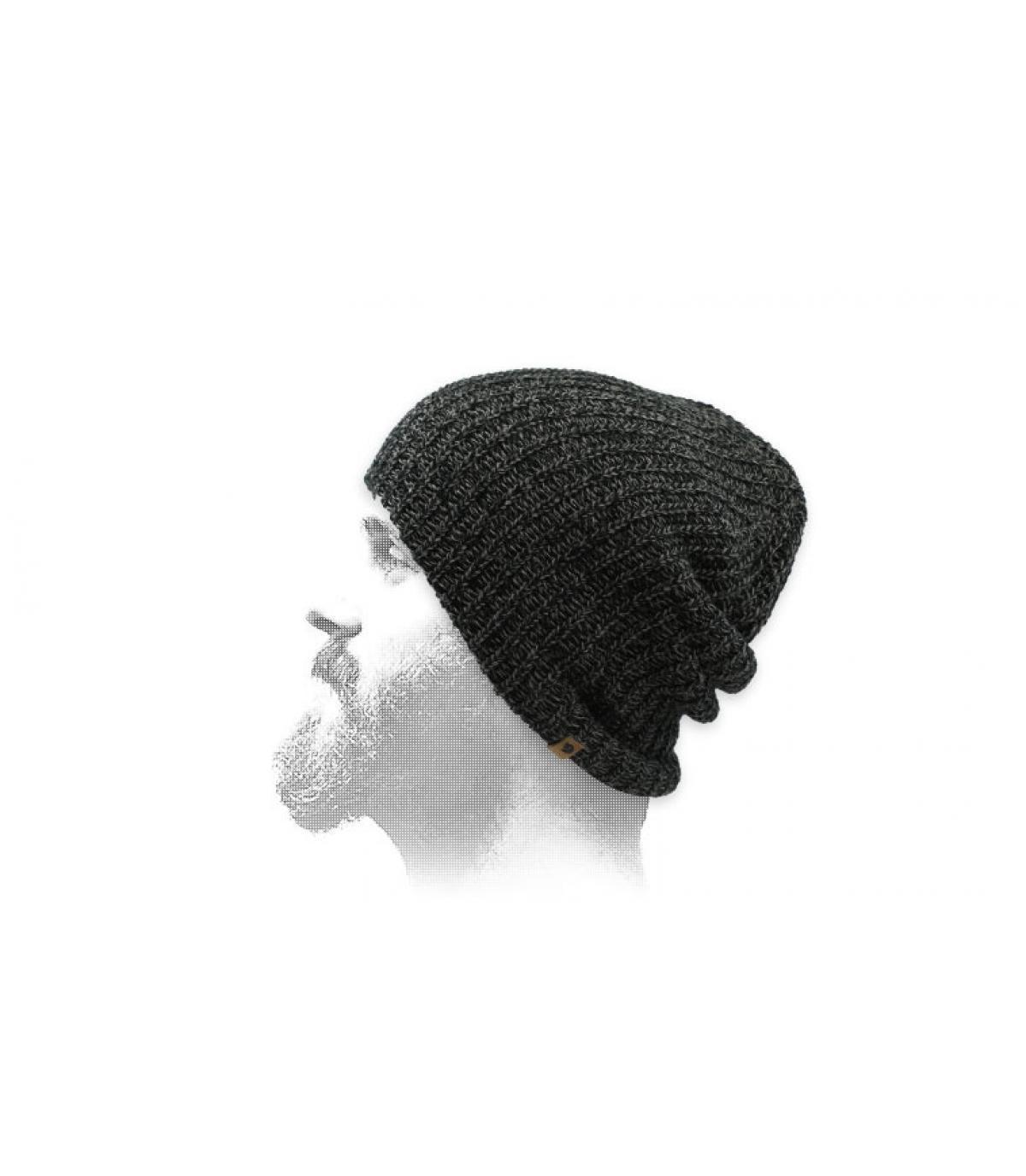 bonnet long noir Fjällräven