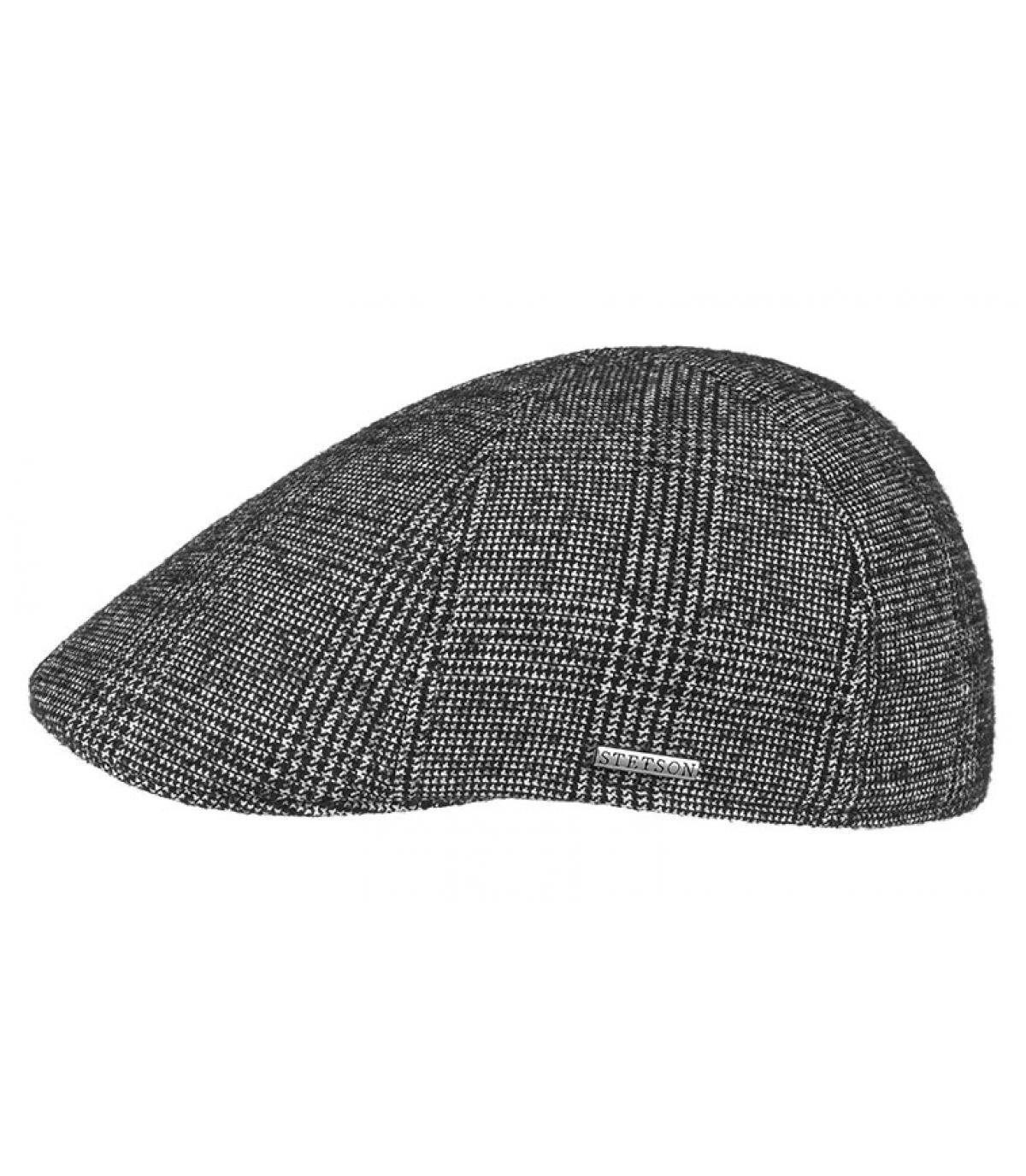 Détails Texas Wool black white check - image 2