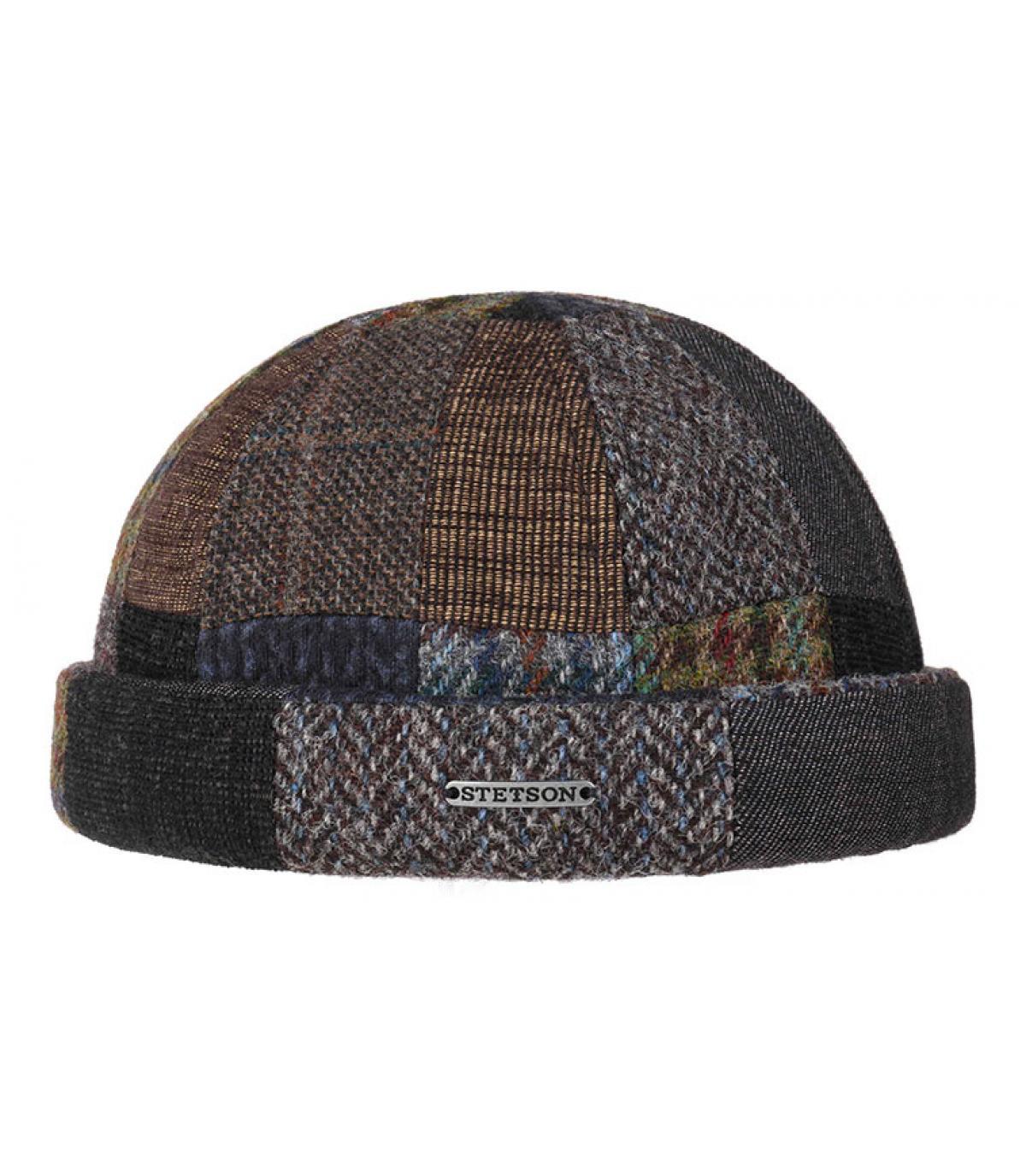 bonnet docker patchwork laine