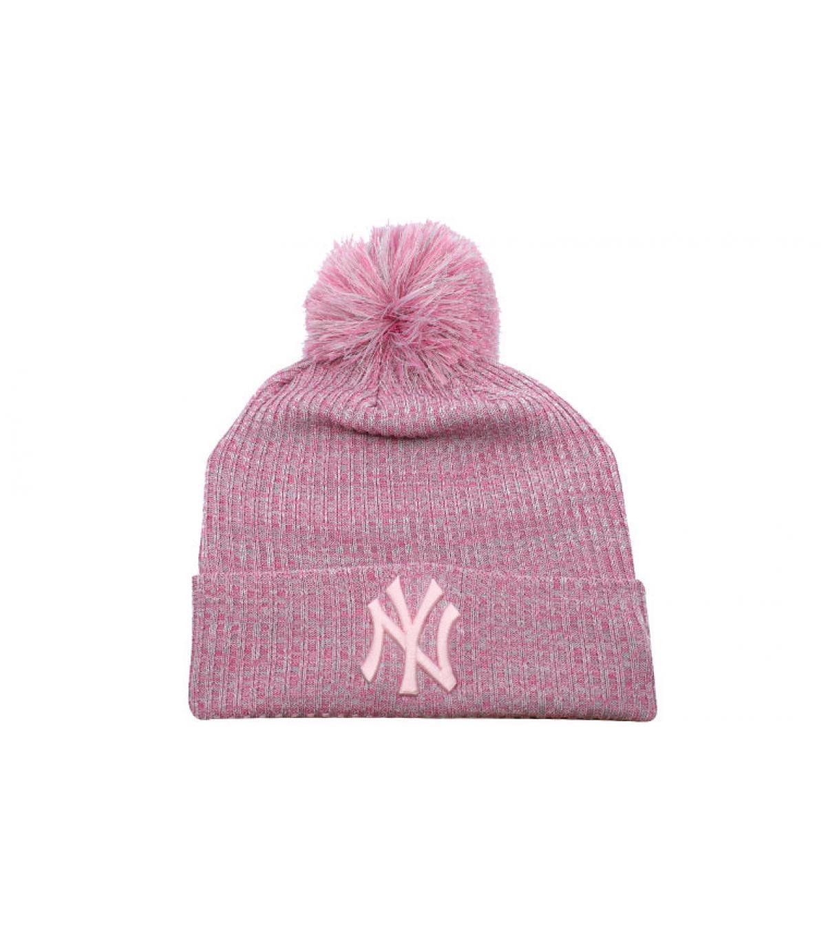 Détails Bonnet Wmns NY Engineered Fit Knit pink - image 2