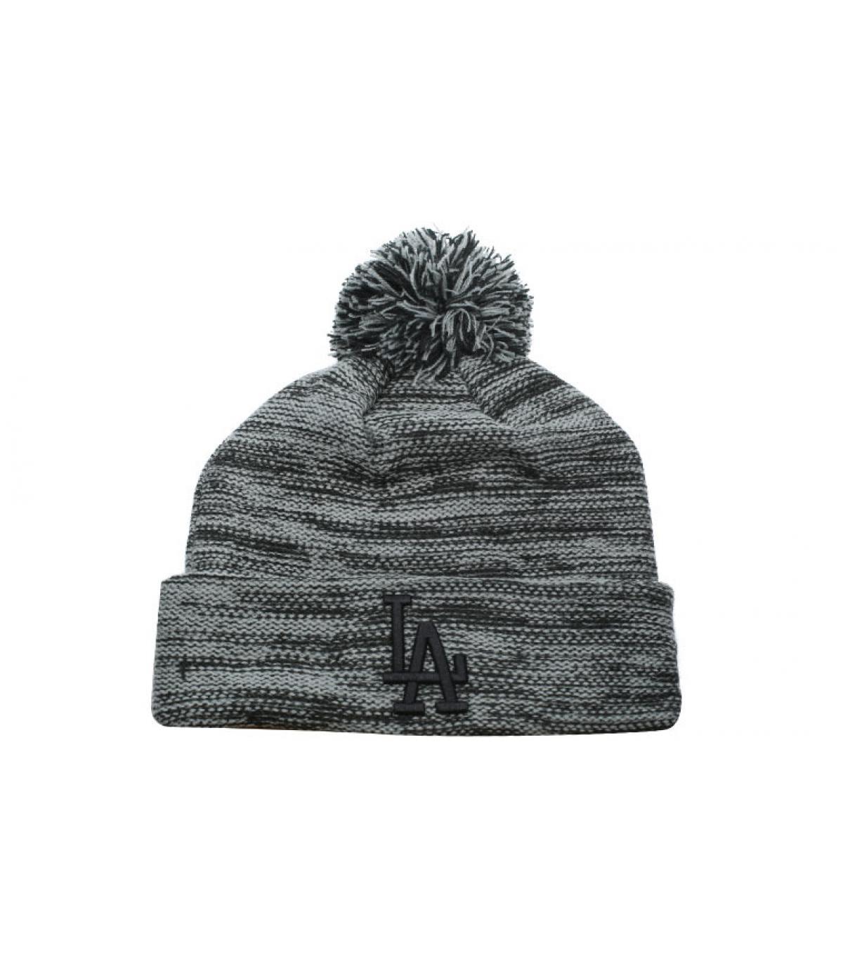 bonnet LA gris chiné