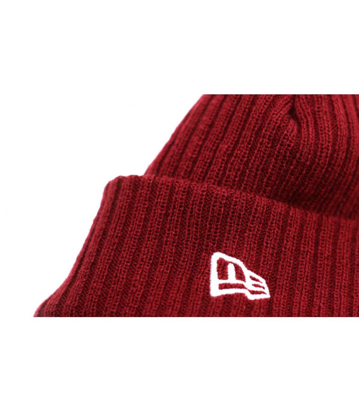 Détails Bonnet Fisherman Cuff cardinal - image 3