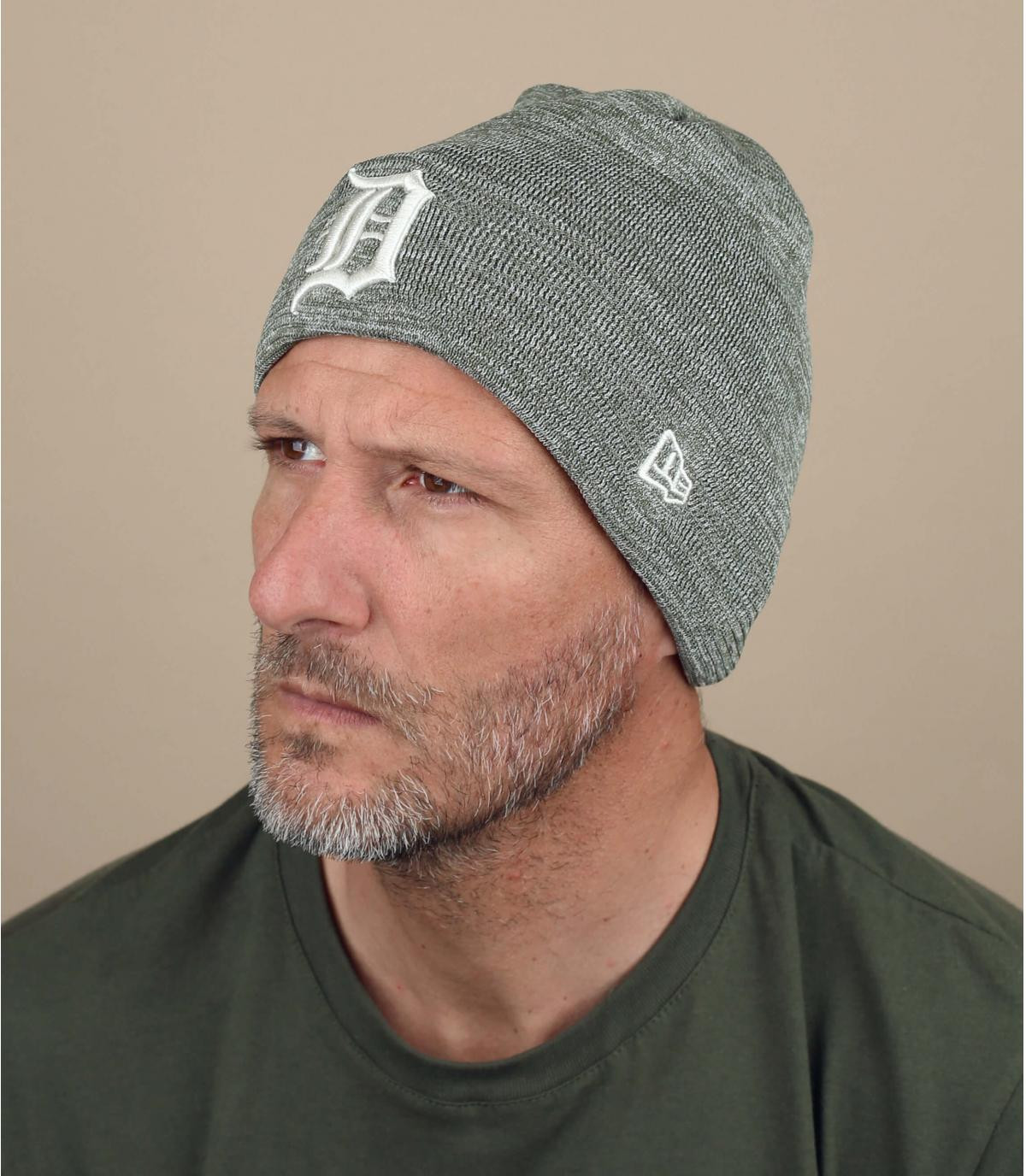 bonnet Detroit gris
