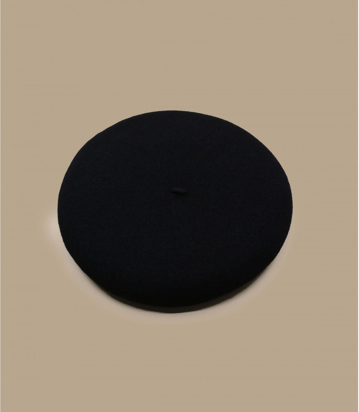 Détails Beret vrai basque noir - image 2