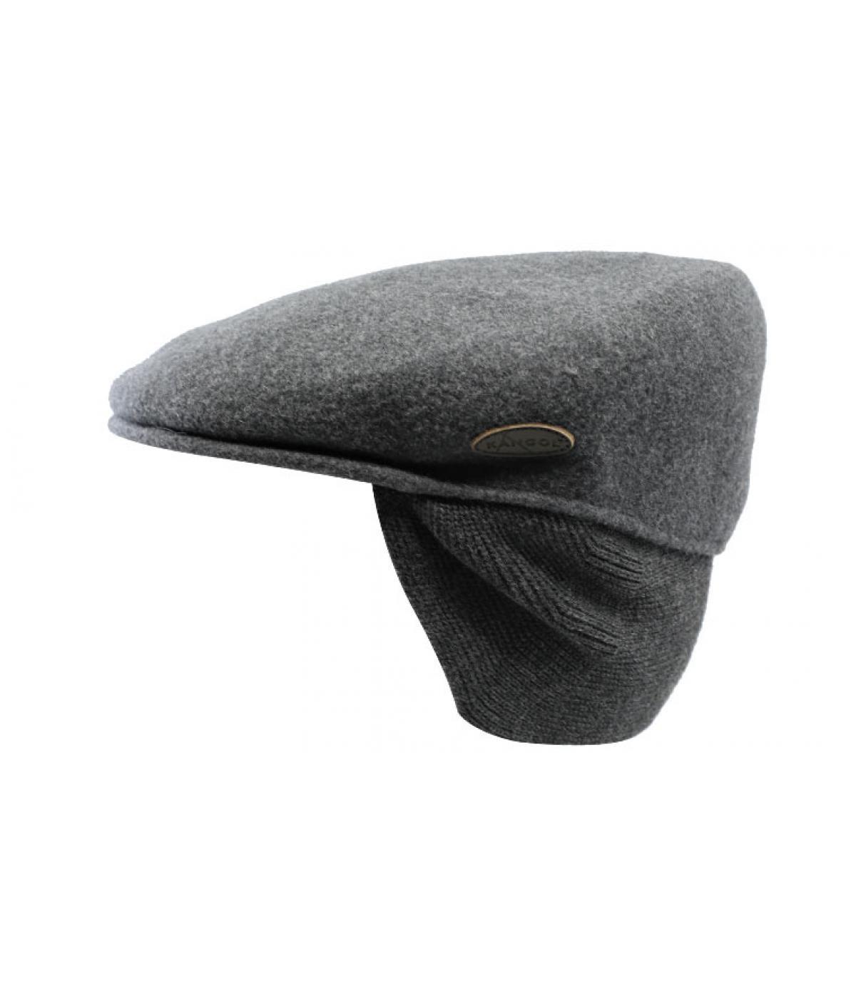 Détails Wool 504 Earflap dk flannel - image 2