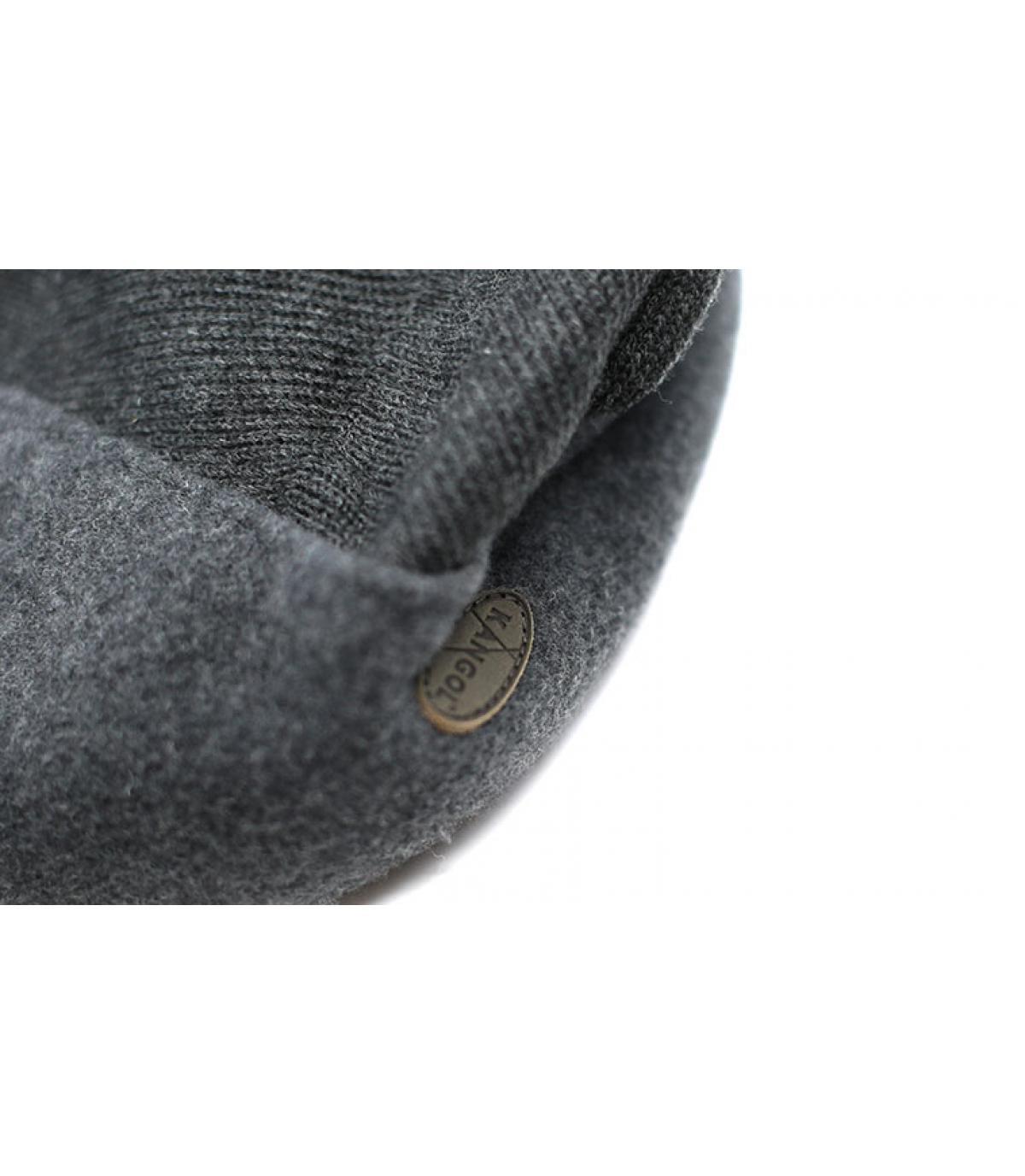 Détails Wool 504 Earflap dk flannel - image 3
