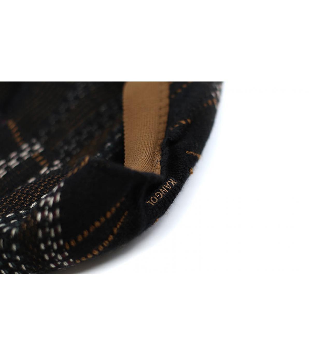 Détails Pixel Plaid 504 espresso - image 3