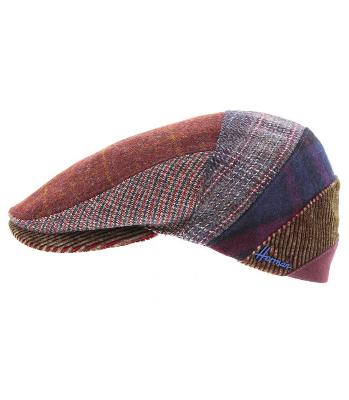 béret patchwork laine