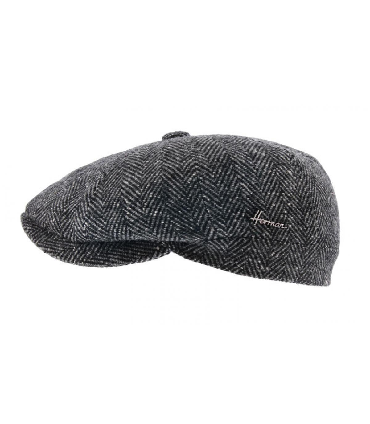 gavroche noir laine