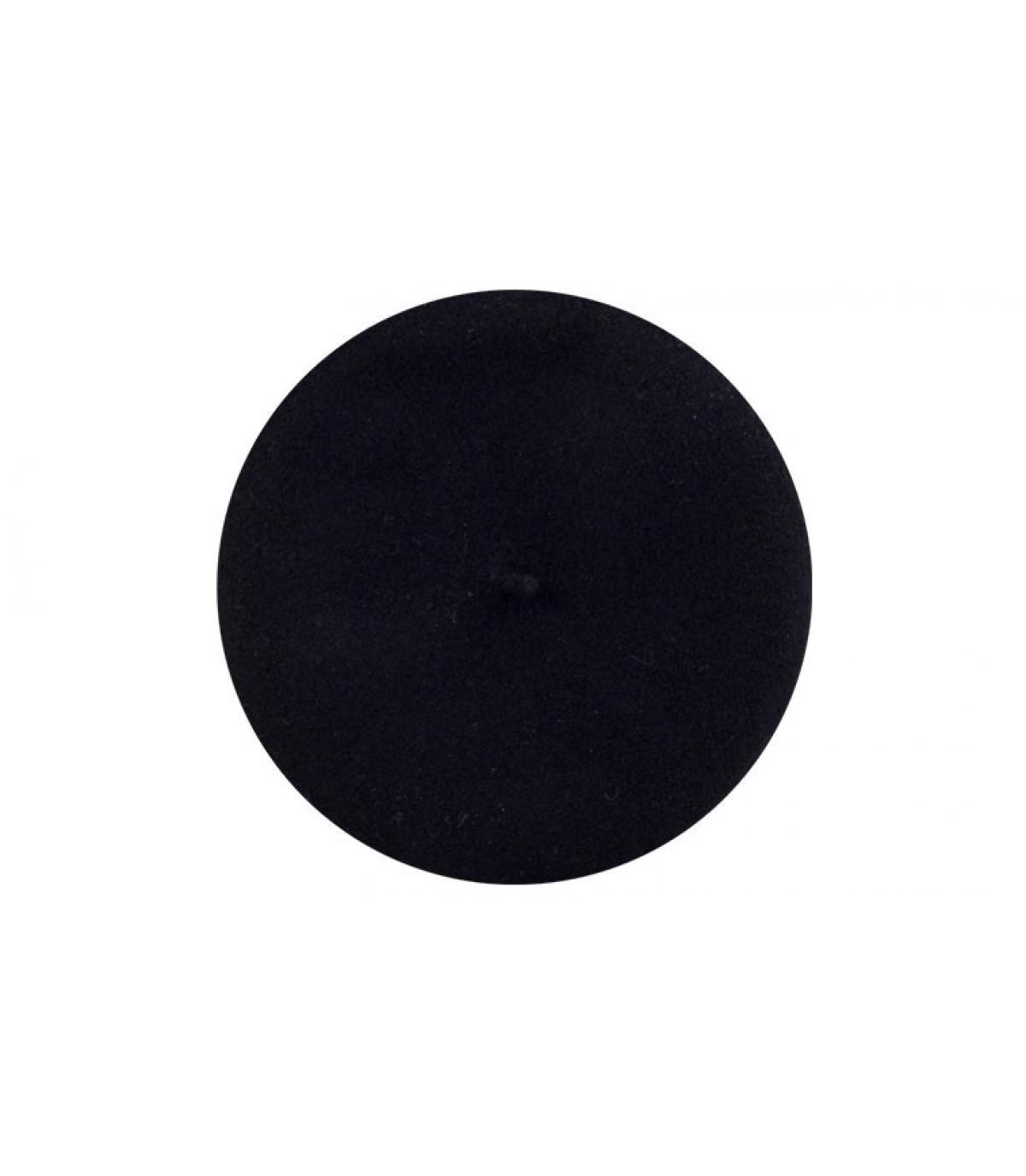 beret parisien noir parisienne noir par laulhere. Black Bedroom Furniture Sets. Home Design Ideas