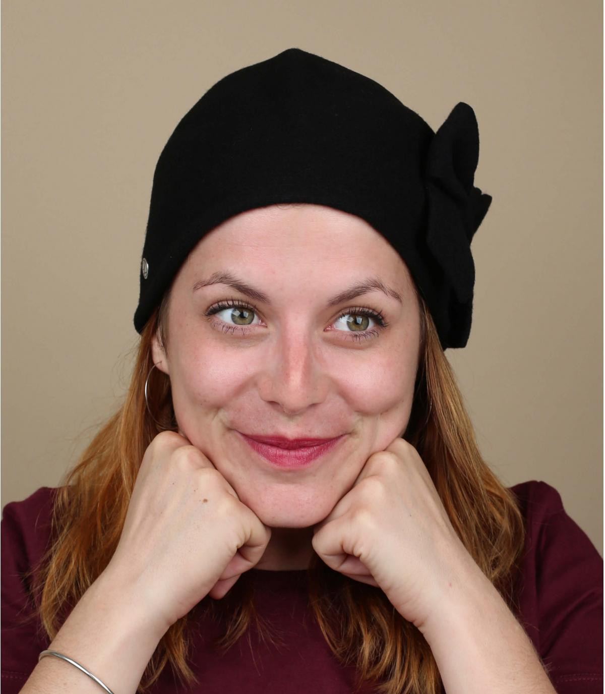 Chapeau cloche femme