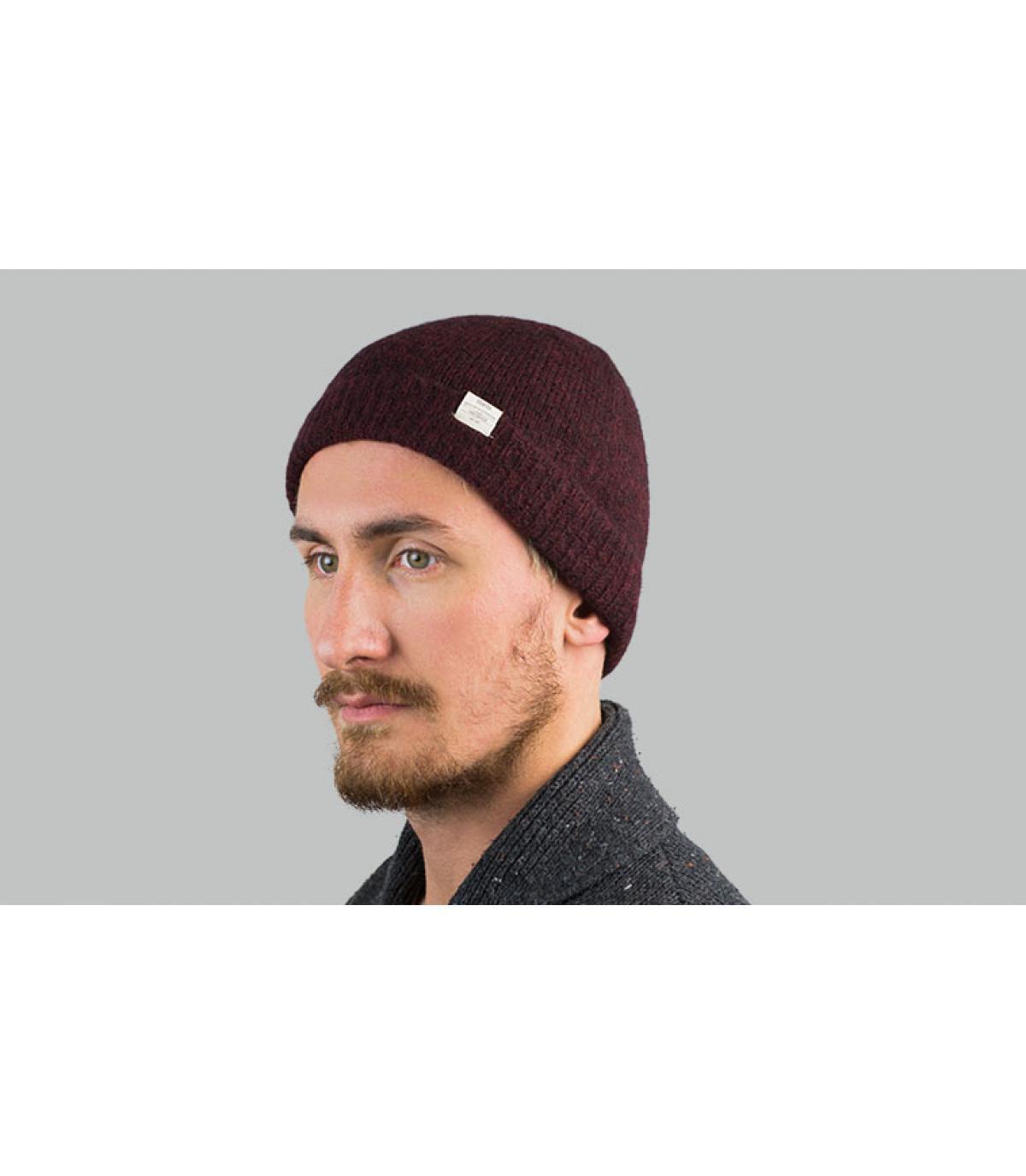 bonnet alpaga bordeaux Barts