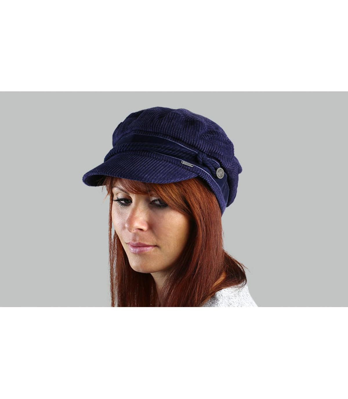 casquette marin bleu Barts