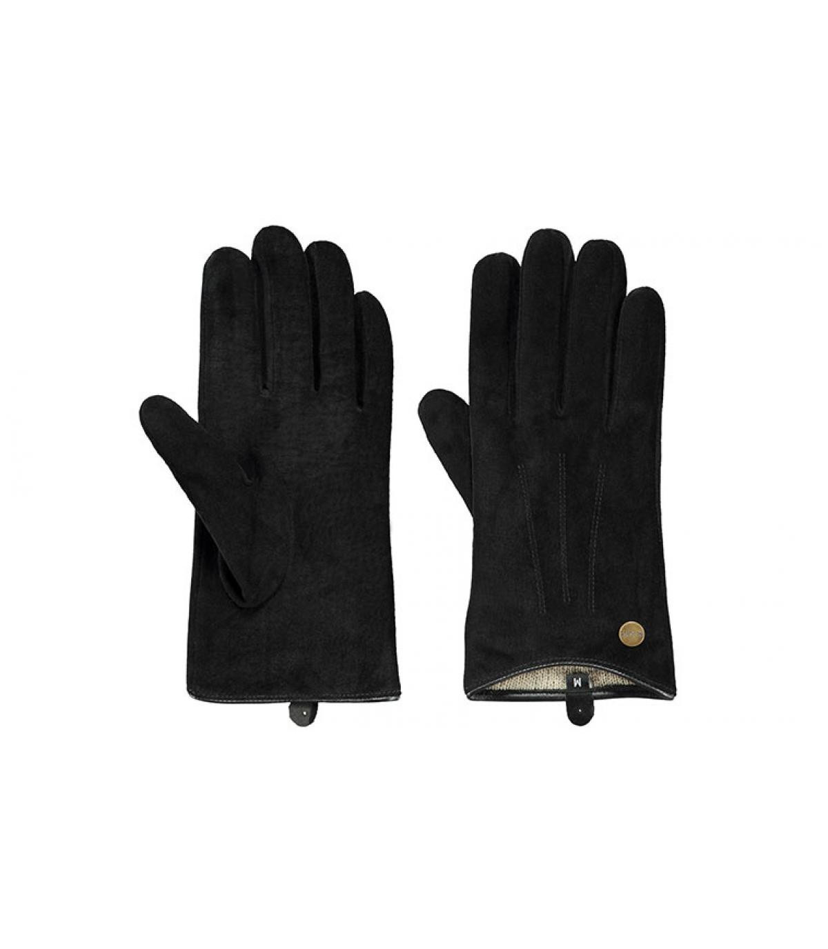 gants femme noir Barts