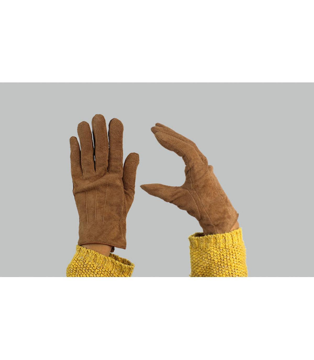 gants femme marron Barts