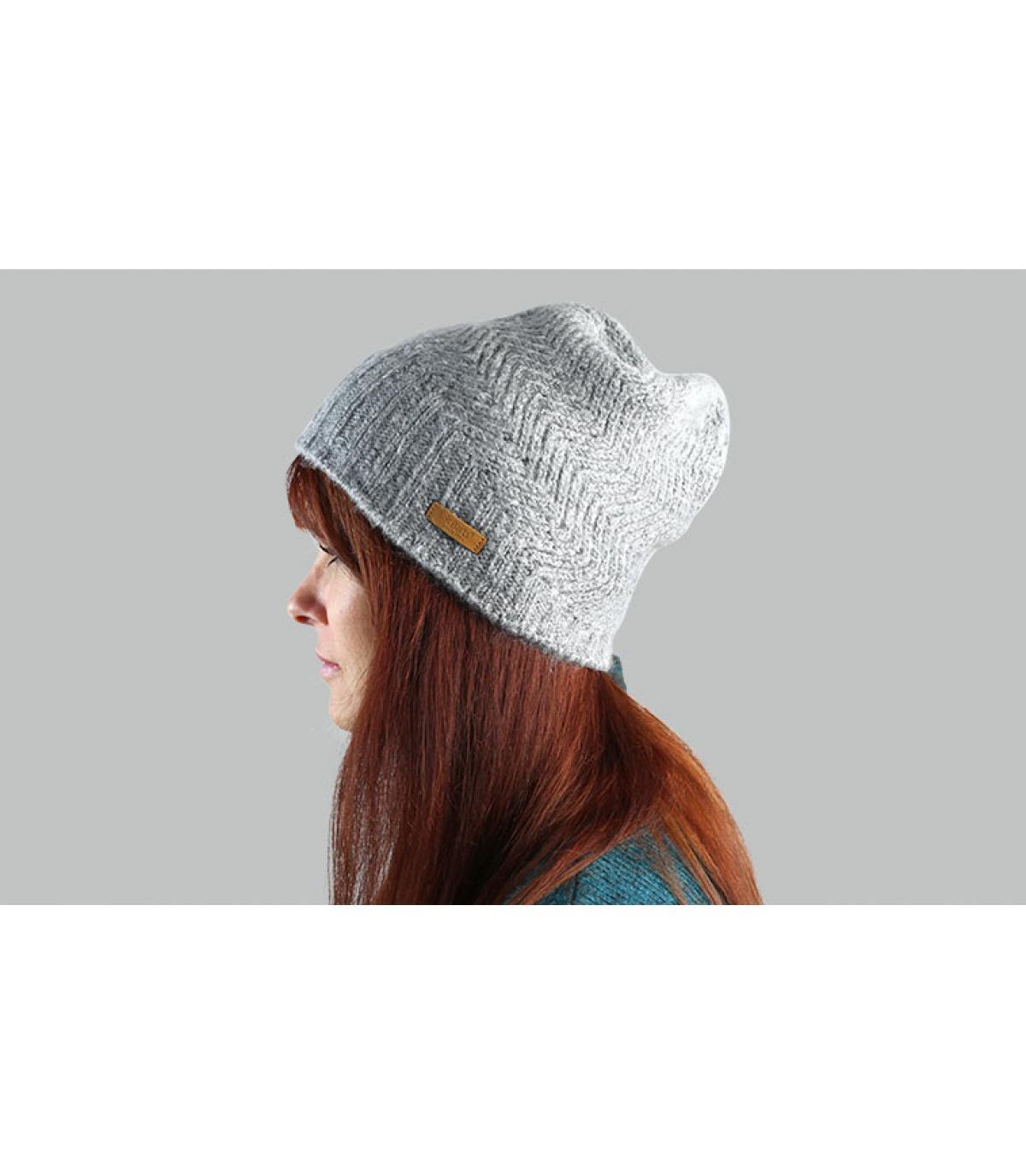 bonnet long gris Barts
