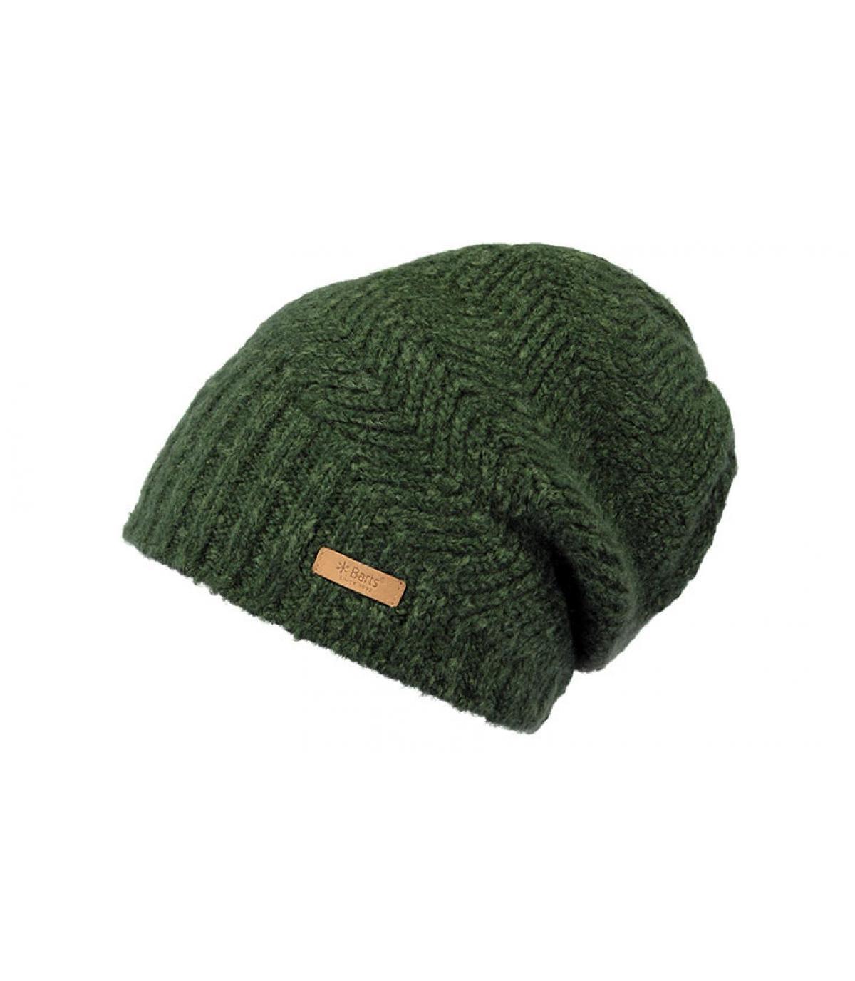 bonnet long vert Barts