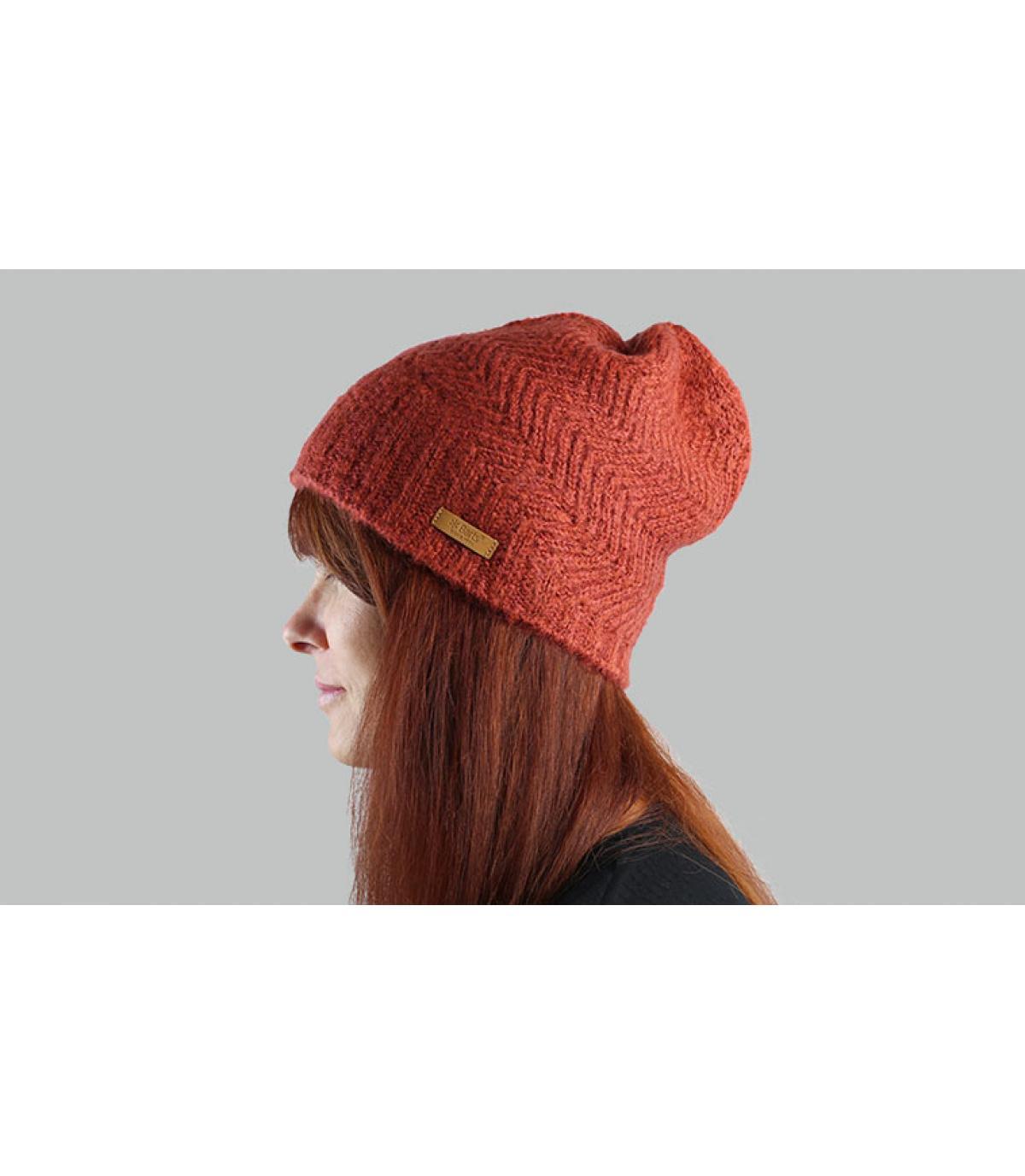 bonnet long orange Barts