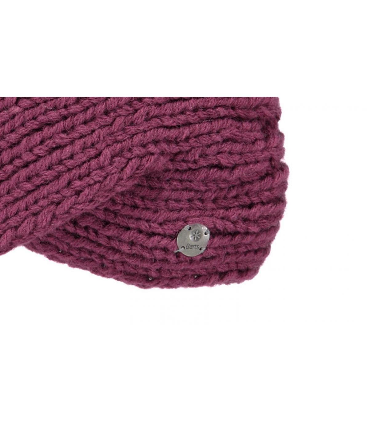 Détails Yogi headband maroon - image 3