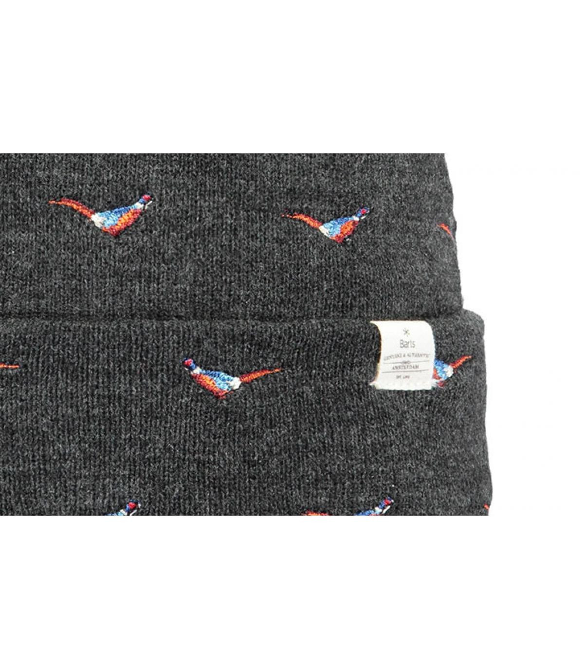 Détails Vinson Beanie dark heather - image 3
