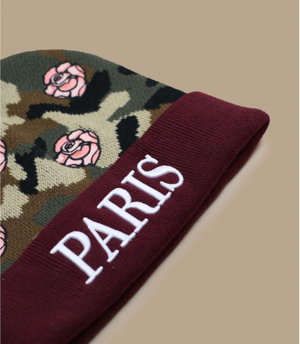 Détails Bonnet Le Parisien floral - image 3