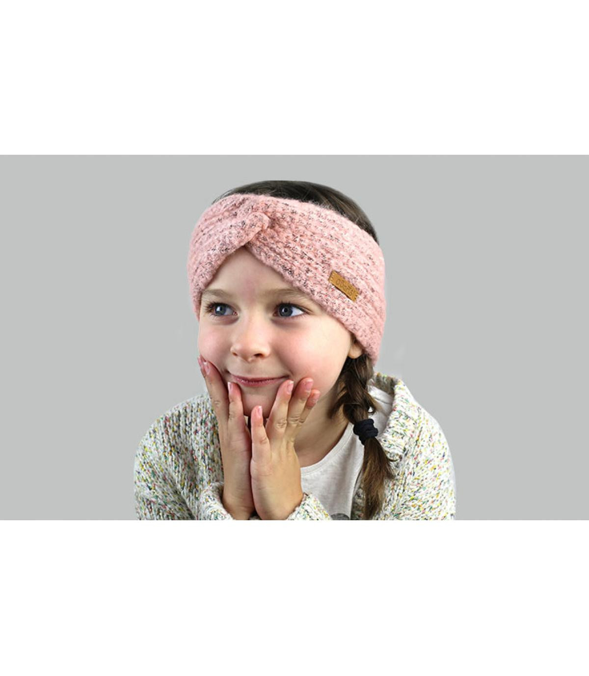 bandeau enfant rose