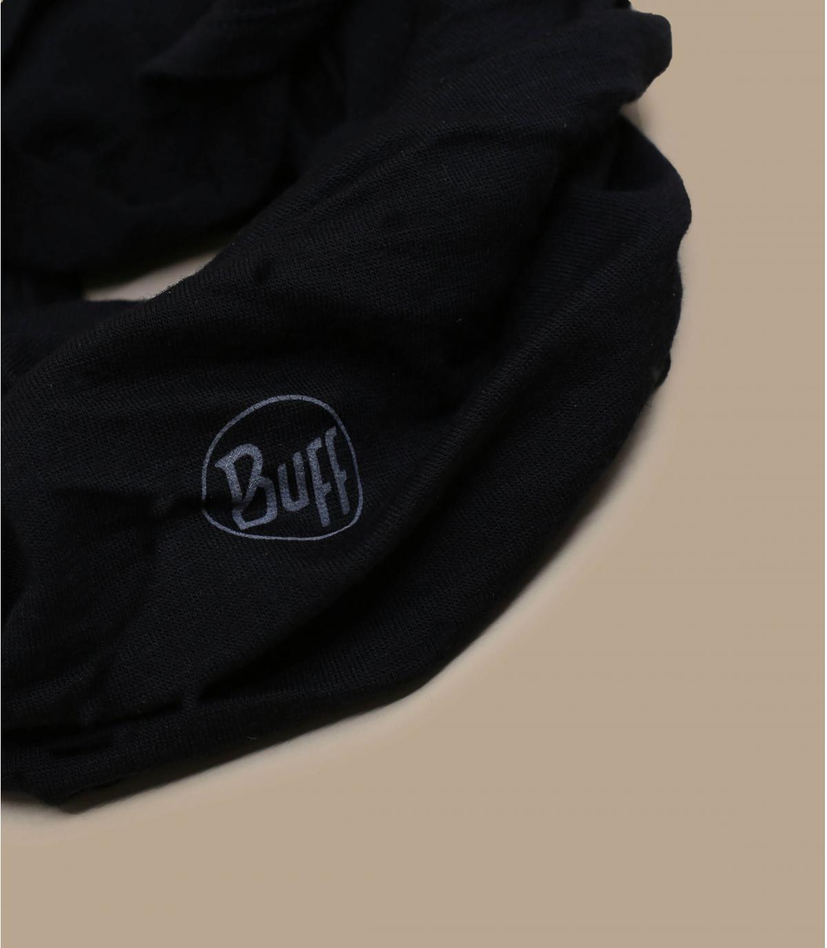 Buff laine noir