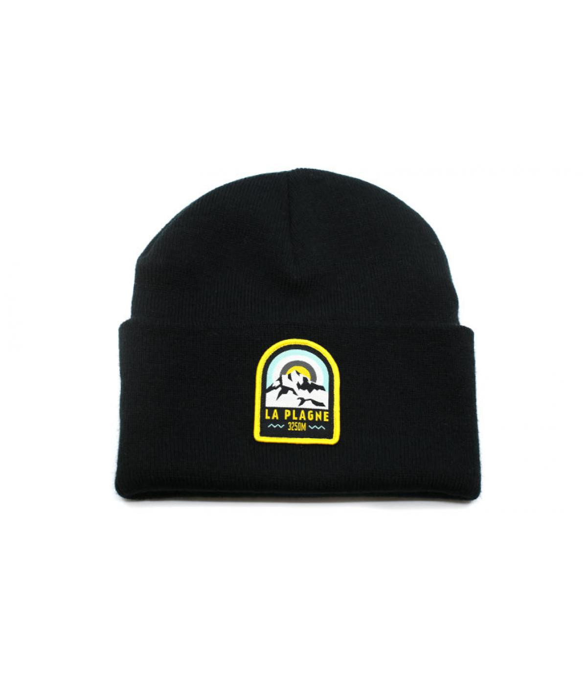 bonnet La Plagne noir