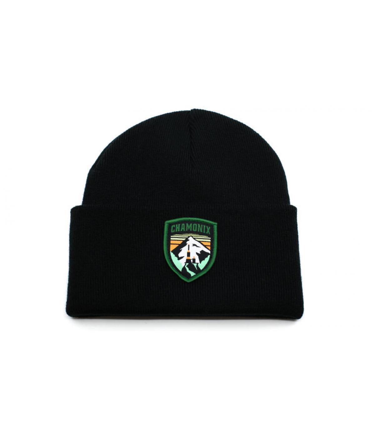 bonnet Chamonix noir