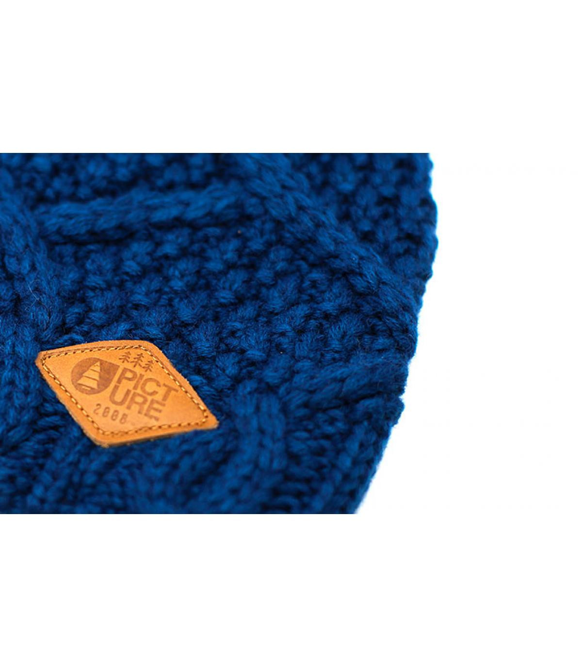 Détails Jude Beanie petrol blue - image 3