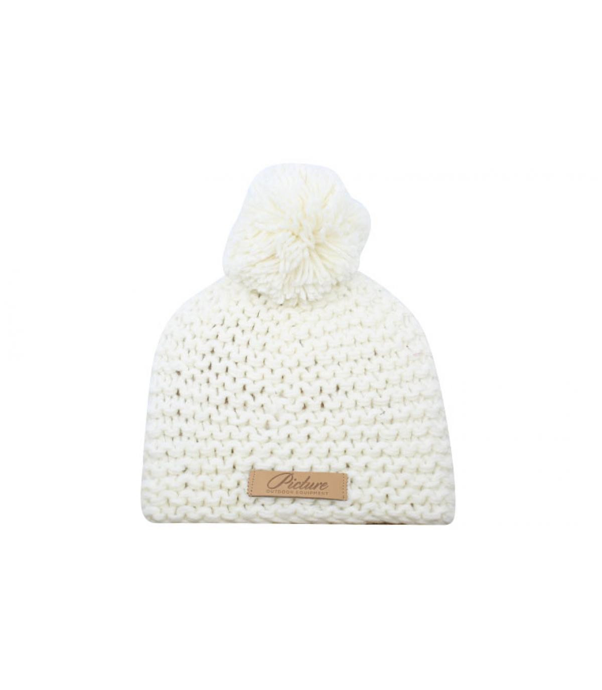 Détails Coco Mayo Beanie white - image 2