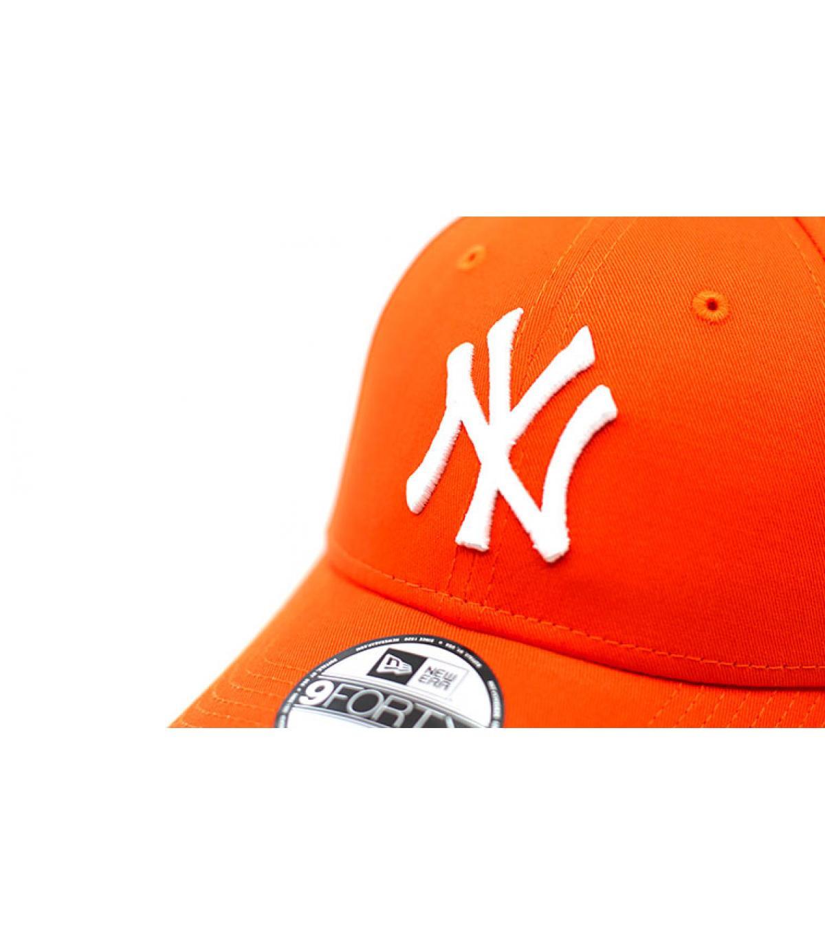 Détails Casquette League Ess 9Forty NY orange - image 3
