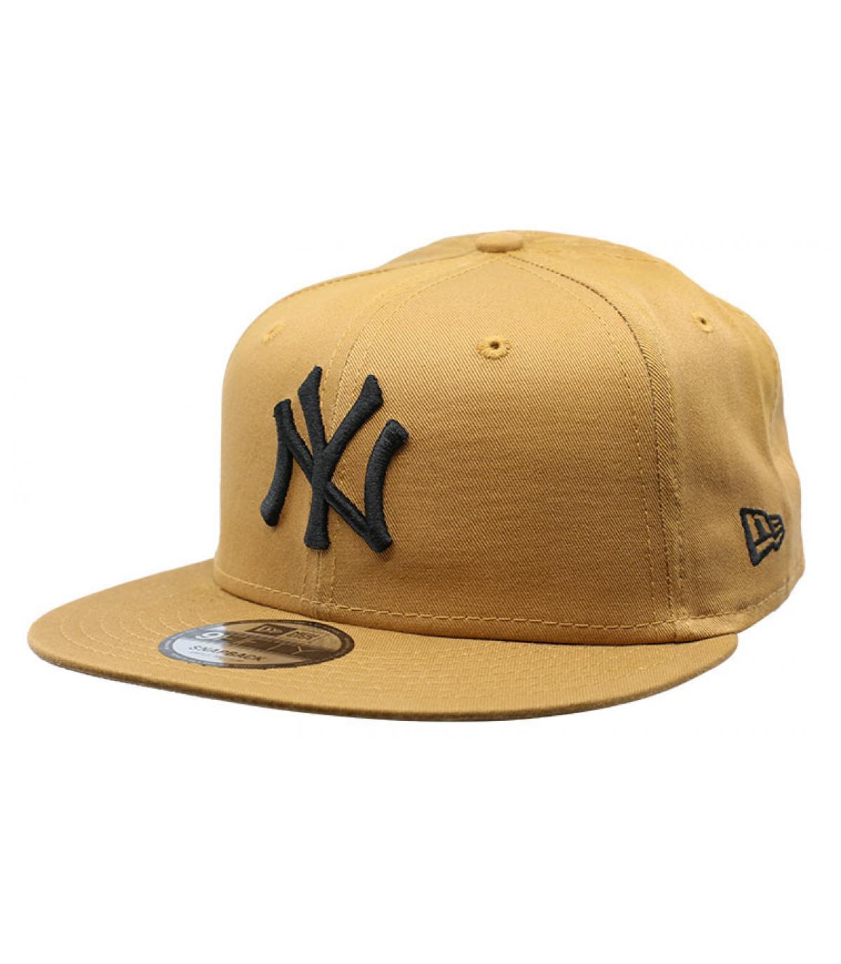 snapback NY beige