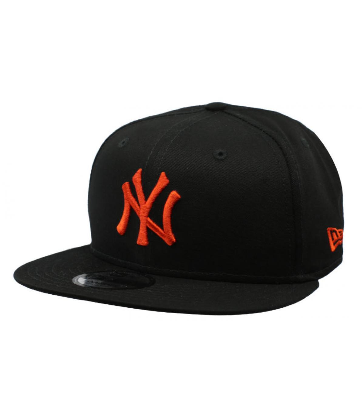 snapback NY noir rouge