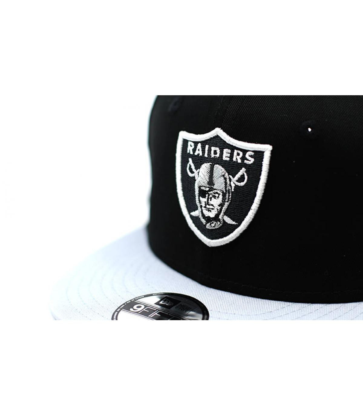Détails Snapback Contrast Team Raiders 9Fifty - image 3
