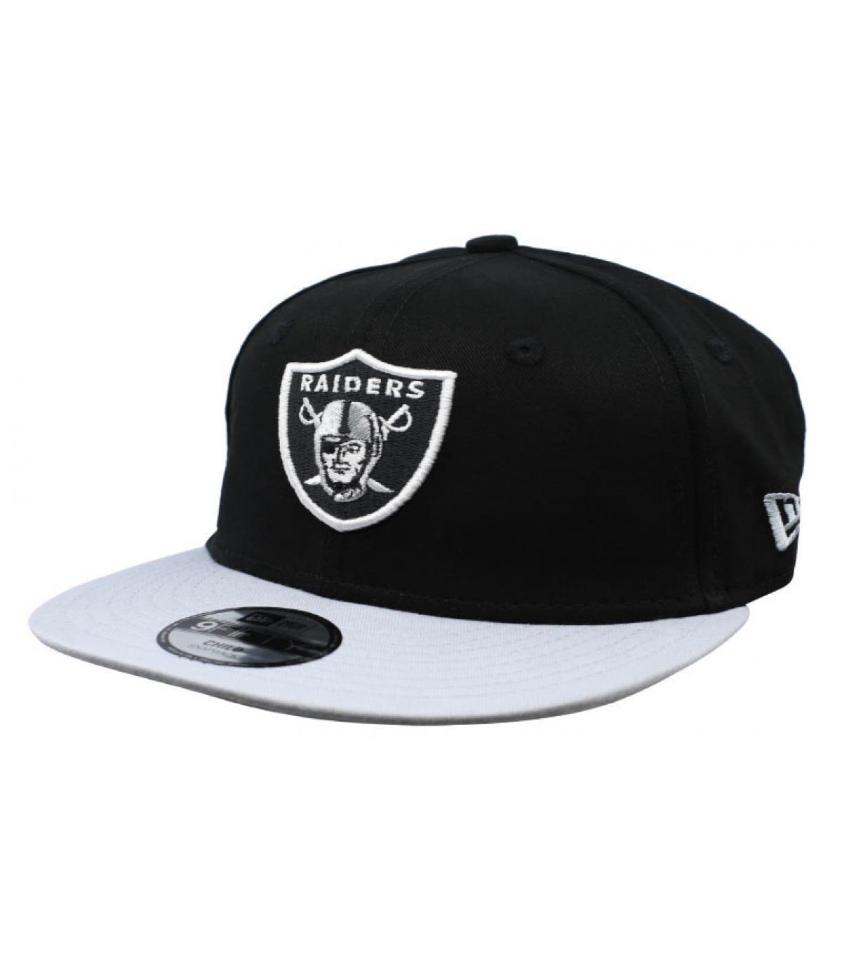 snapback Raiders enfant noir
